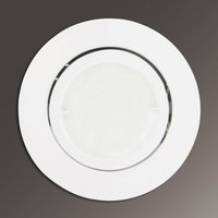 Joanie LED recessed light in white  round