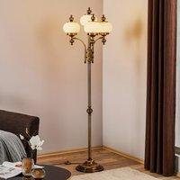 Delia Floor Lamp Four Bulbs Old Brass