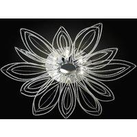 Girasole ceiling light  flower shape  98 cm