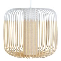 Forestier Bamboo Light M pendant lamp 45 cm white