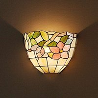 BRINDISI   wall light in a Tiffany style