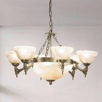 Decorative pendant light Marilla  9 bulb
