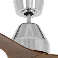 Whitehaven ceiling fan 142 cm chrome koa