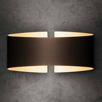 Holtk tter Voil  LED wall light  matt smoke