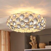Chromglänzende Deckenlampe Reza