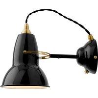 Image of Anglepoise Original 1227 Brass Wandlampe schwarz