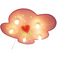 Lief for Girls ceiling light with night light