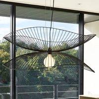 Forestier Libellule L pendant lamp  100 cm  black