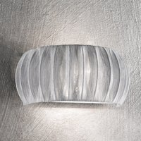 Amaru wall light with fabric lampshade 32 cm