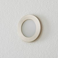 BEGA Accenta wall lamp round frame steel 315lm