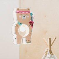 Little Indians pendant light  Bj rn Bear  brown
