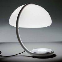 Martinelli Luce Serpente   table lamp  white