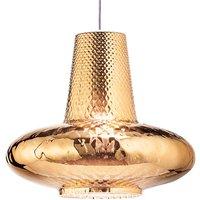 Giulietta hanging lamp 130cm metallic antique gold