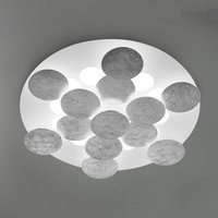 Covered with silver film   LED ceiling lamp Nuvola