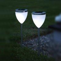 Image of Dekorative Solarleuchte LED Jannik 2-er Set