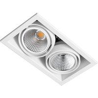 Zipar Duo Recessed LED downlight 39 W  3 000 K