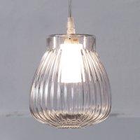 Karman Ceraunavolta pendant light  glass lampshade