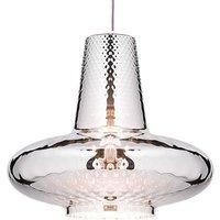 Giulietta hanging lamp 130 cm metallic silver
