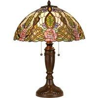 Heavenly table lamp Eden  Tiffany style