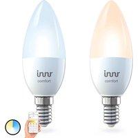 E14 5 8 W Innr Smart Candle Comfort LED bulb 2x