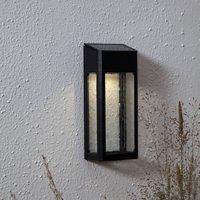Wally LED solar wall light  aluminium