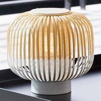 Forestier Bamboo Light S table lamp 24 cm white