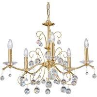 Kolarz Carmen II chandelier   65 cm gold crystal