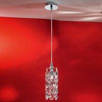 Charlene Hanging Light Narrow Chrome Plated