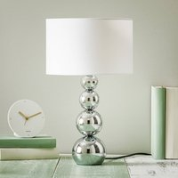 Mandy table lamp  touch function  white