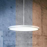 VIVAA 2 0 VTL LED hanging lamp 60cm white CCT