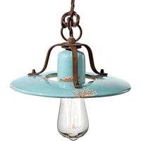 Vintage Giorgia pendant lamp in turquoise