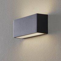 BEGA 50147 wall lamp 3000K DALI 25cm velvety black