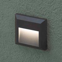 Grant   angular LED outdoor wall light