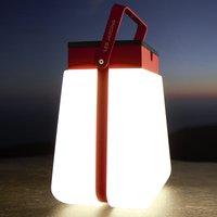 Bump 300 LED solar lantern portable  red