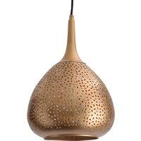 Gold coloured Chiara hanging light