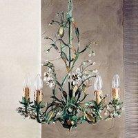 Francesca green Florentine chandelier
