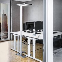 Luctra Vitawork LED office floor lamp 17000 lm PIR
