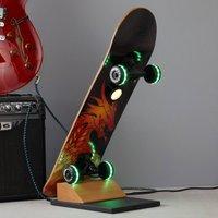 Easy Cruiser Dragon skateboard LED table lamp