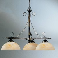 Country house style hanging light Dana  3 bulb