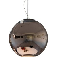 Reflective hanging light GLOBO DI LUCE 30 cm