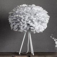 UMAGE Eos medium table lamp  light grey