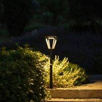 Metro LED solar path light with sensor  grey