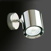 Kronn   pivotable wall light  chrome