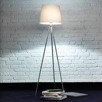 Three legged floor lamp Pico  matt nickel