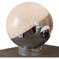 LED tafellamp Sphere, chroom, Ø 20 cm