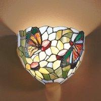 Viktoria wall light in a Tiffany look