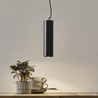 Studio   black LED pendant lamp  cylinder