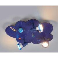 Cloud shaped ceiling light Universe