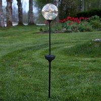 LED-Solarleuchte Glory, Erdspieß