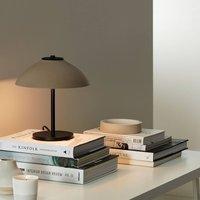 Vali table lamp  height 25 8 cm  black beige
